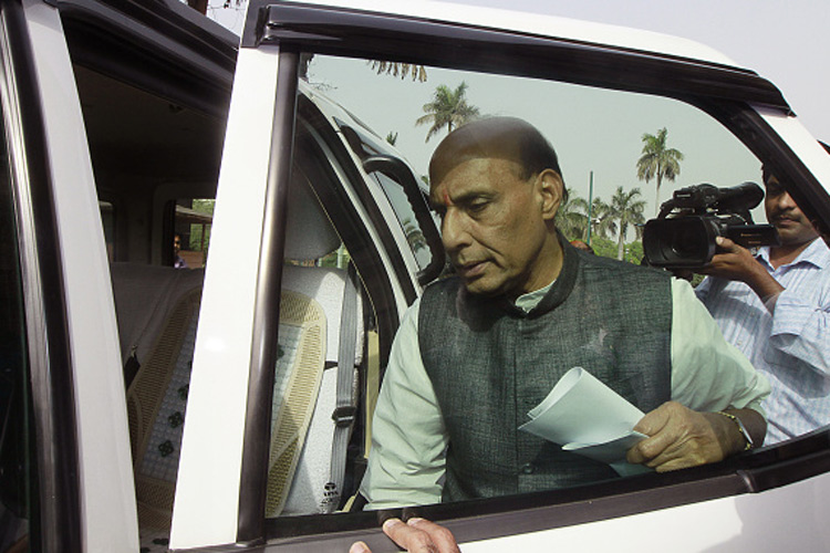Rajnath to Raise Issue of Pak Support to Terror in SAARC Meet