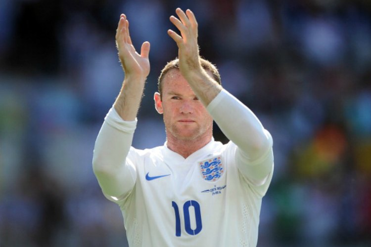 Rooney, England's record goalscorer, has been out since February 13 with a knee ligament problem and although he was scheduled to return at the start of April a setback then ruled him out for another month. (Getty Images)