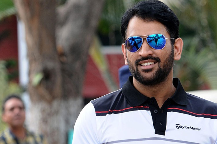 Pleasant Relaxed Ms Dhoni Plays Golf Ahead Of Must Win Australia Game Hairstyles For Men Maxibearus
