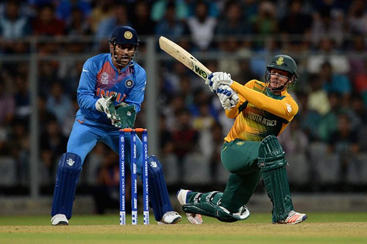 World T20: South Africa halt India's winning run in high-scoring warm-up game