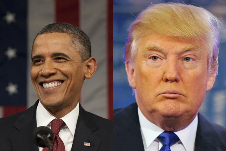 a comparison of the differences between barrack obama and donald trump Comparing melania trump and michelle obama speeches correlation between barack obama speech that michelle by mentioning donald trump or husband 35% more than.
