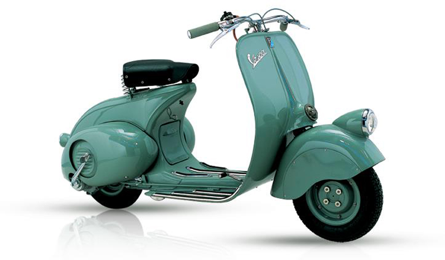 70 years of vespa all the vespas produced ever news18 for Vespa decoracion