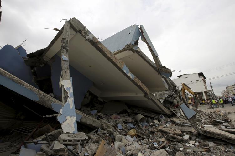 Flood, Then Earthquake: Ecuador Town Suffers Double ...