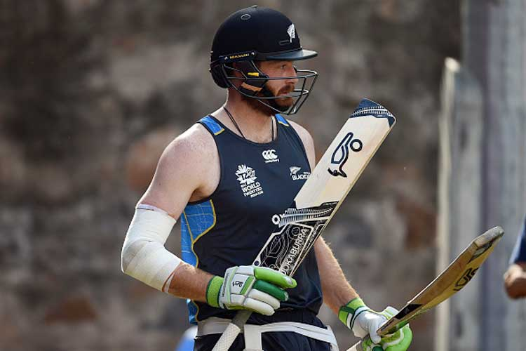 Injured Martin Guptill Out of Three Matches Against South Africa