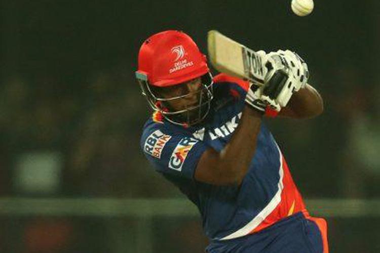 A file photo of Delhi Daredevils' batsman Sanju Samson.
