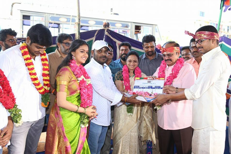 photos vijay s 60th film begins with a pooja keerthy suresh and