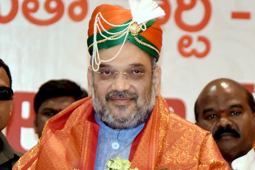 BJP Not Celebrating, Only Giving Report Of Work To People: Shah