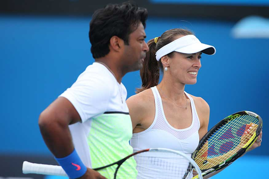 Paes, Hingis Sail Into Mixed Doubles Prequarters at French Open