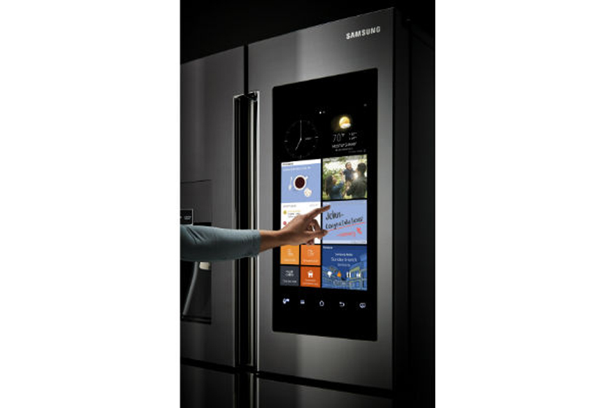Home Water Filter >> Samsung Launches a Refrigerator That's Also a 21-inch TV and Home Entertainment System - News18