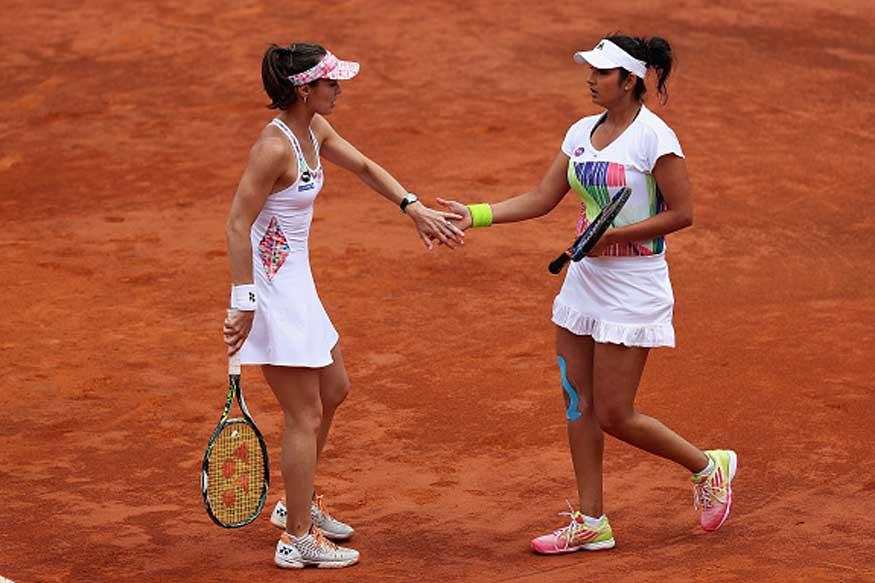 Sania-Hingis Reach Third Round in French Open