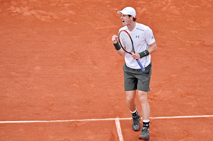 Andy Murray Storms into French Open Last Eight
