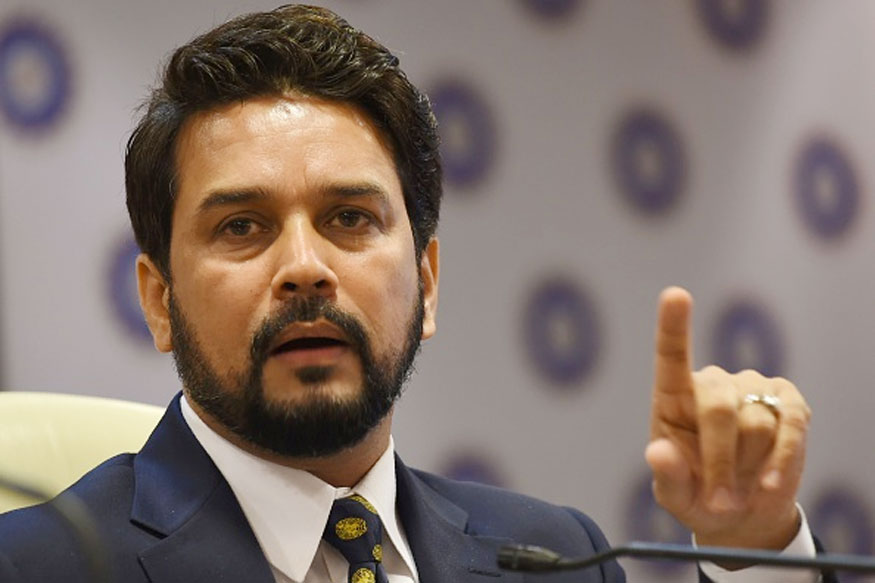 File image of Anurag Thakur.  (Photo Credit: Getty Images)