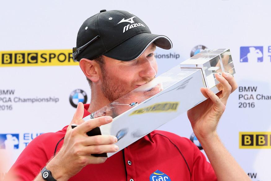 Wood Survives Late Wobble, Wins BMW PGA Championship