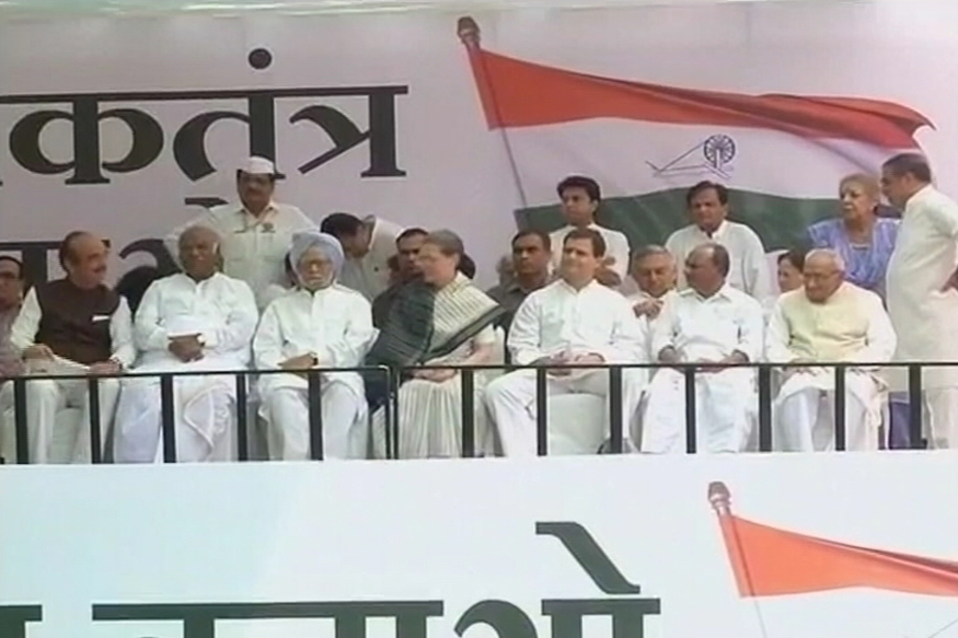 Agusta Debate Out on Streets, Congress, BJP Hold Protests