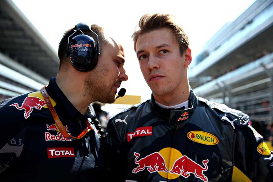 Red Bull Drop Kvyat to Toro Rosso, Promote Verstappen