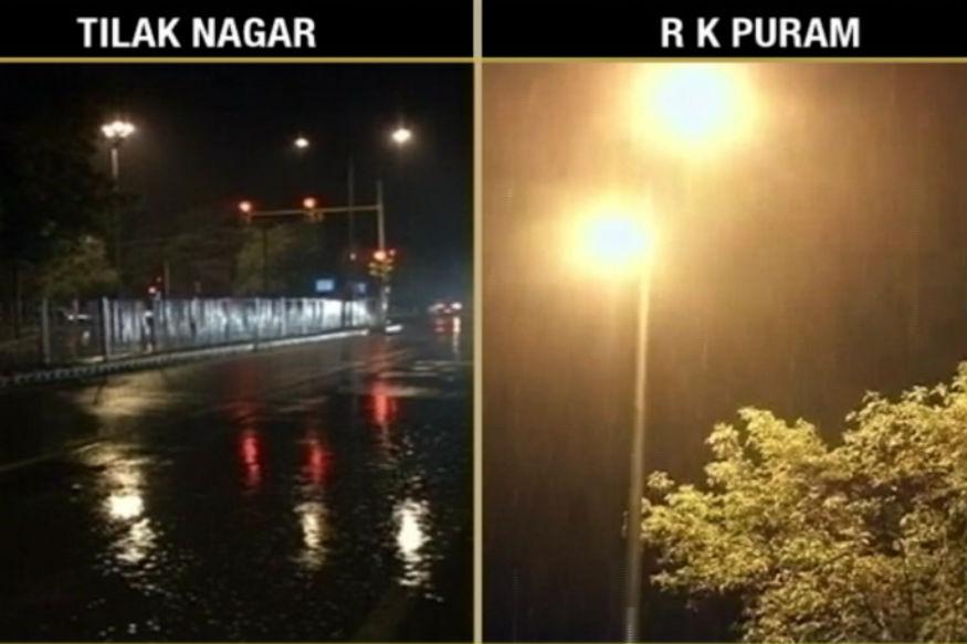 Heavy Rainfall, Dust Storm Bring Down Mercury in Delhi, 27 Flights Diverted