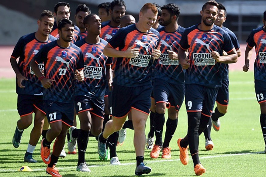 File image of Delhi Dynamos training. (Getty Images)