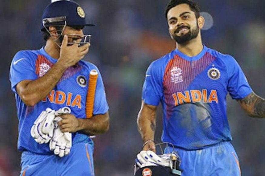 File image of MS Dhoni and Virat Kohli during the World T20.