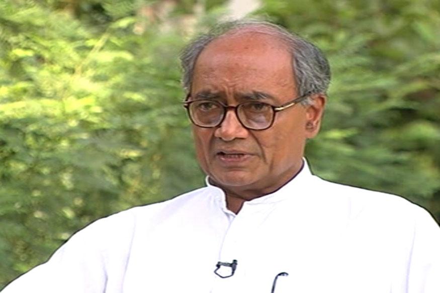Digvijaya Removed as Congress General Secy In-charge of Goa, Karnataka
