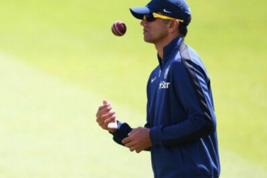 File photo of Rahul Dravid during India A's practice session. (Getty Images)