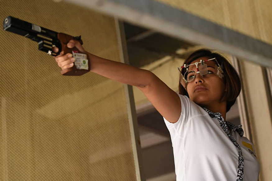Heena Sidhu Misses ISSF World Cup Final by a Point