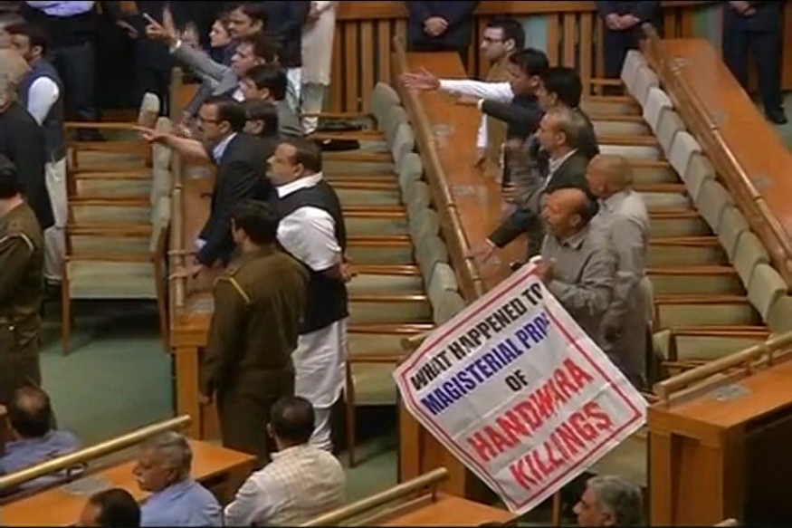 Congress, NC Walk Out of J&K Assembly Over Sainik Colony Row
