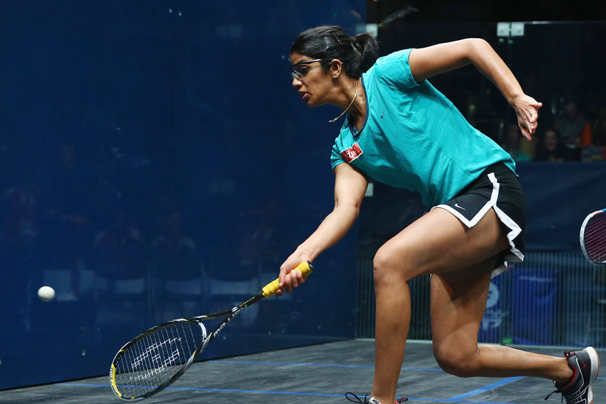 Joshna Chinappa Improves to 13th in Squash Rankings