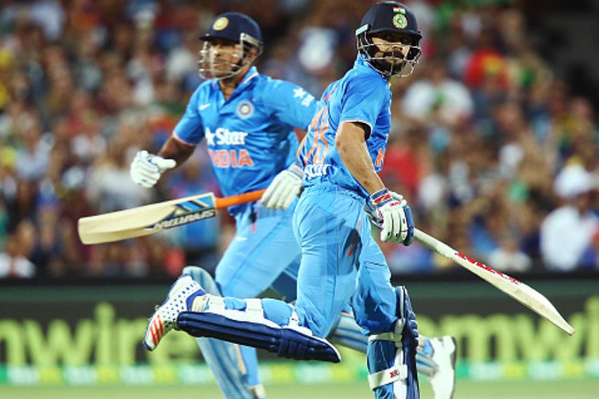 India vs New Zealand 3rd ODI Live Score: Kohli, Dhoni Put India in Command