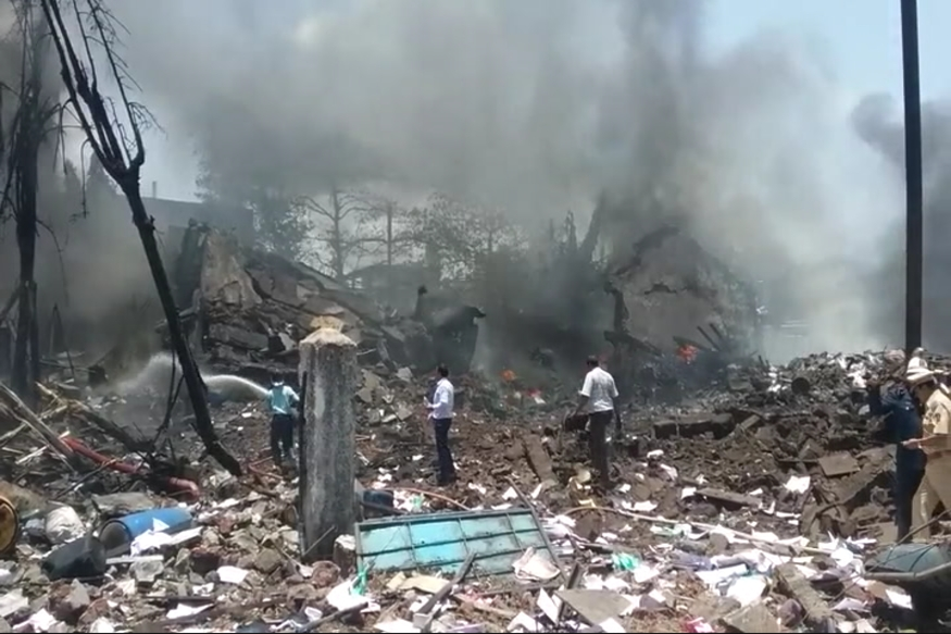 Five Dead, Over 100 Injured in Chemical Factory Blast Near Mumbai