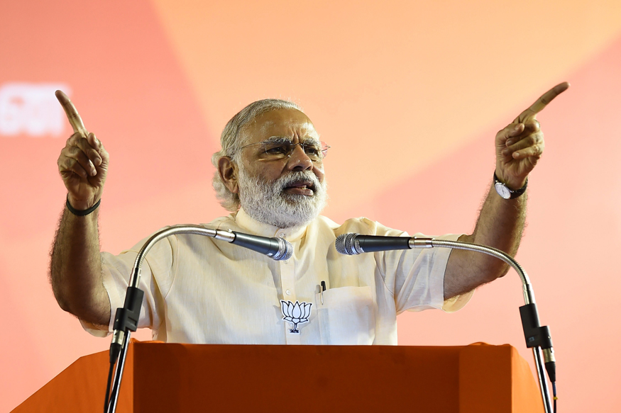I will not let the nation go on the wrong path, says PM Modi