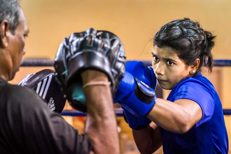 Boxer Nikhat Wants to Overcome Olympics Miss With 3rd Worlds Medal