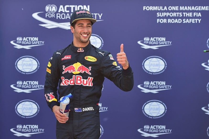 Red Bull's Daniel Ricciardo Takes Pole Position for Monaco GP