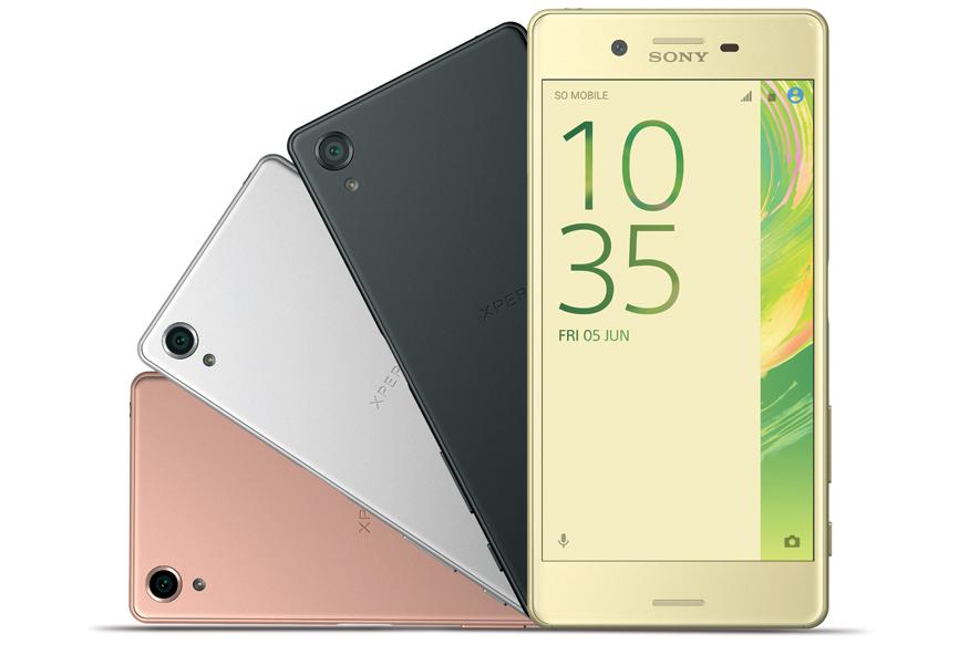 Sony Launches Xperia X, XA Smartphones in India