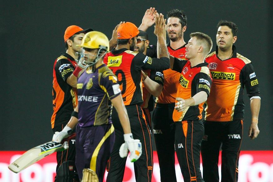 Hyderabad Eliminate Kolkata, to face Gujarat in Qualifier 2