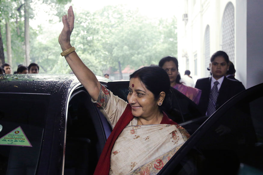 Sushma Bats For Considering Single Parents, Adopted Kids in Passports