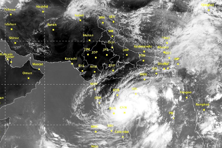 Cyclone Nada Rains Lash Several Parts Of Tamil Nadu News18