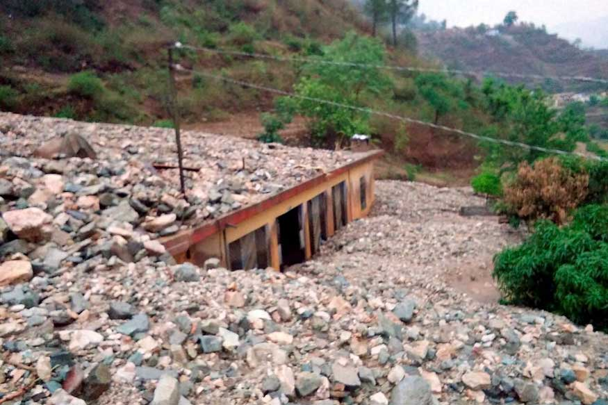 Uttarakhand: One Killed as Cloudbursts Bury Houses in Tehri