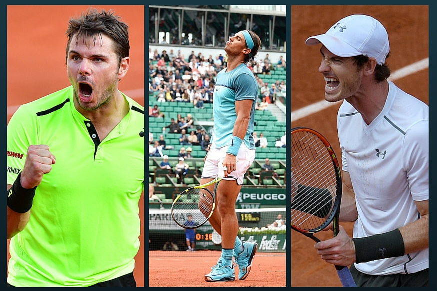 Injured Nadal Out of French Open As Murray, Wawrinka Cruise