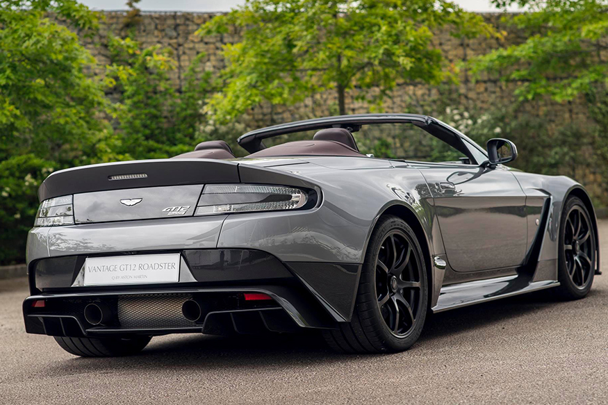 aston martin vantage gt12 roadster unveiled at goodwood festival of speed news18. Black Bedroom Furniture Sets. Home Design Ideas