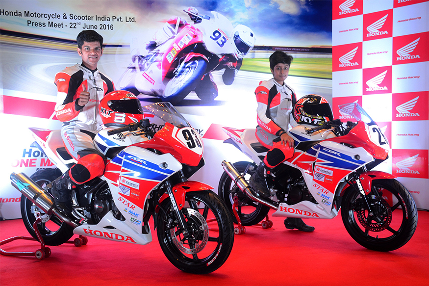 honda one make race calendar  new race prepped cbr 250r