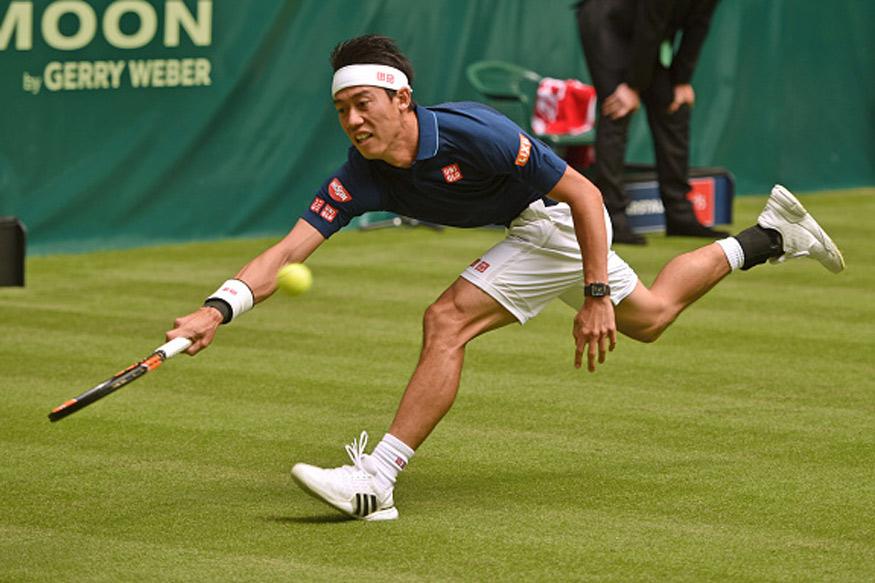 Kei Nishikori Scrapes Through to Geneva Open Semis