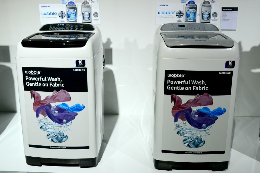 Samsung launches new range of automatic washing machines - Washing machine new technology ...
