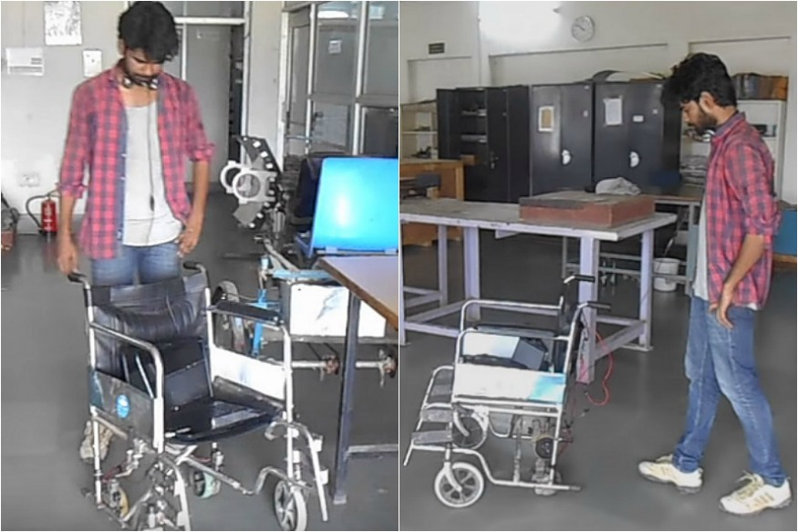 Inspired By Stephen Hawking, Bihar Boy Makes Voice-Controlled Wheelchair For Grandfather