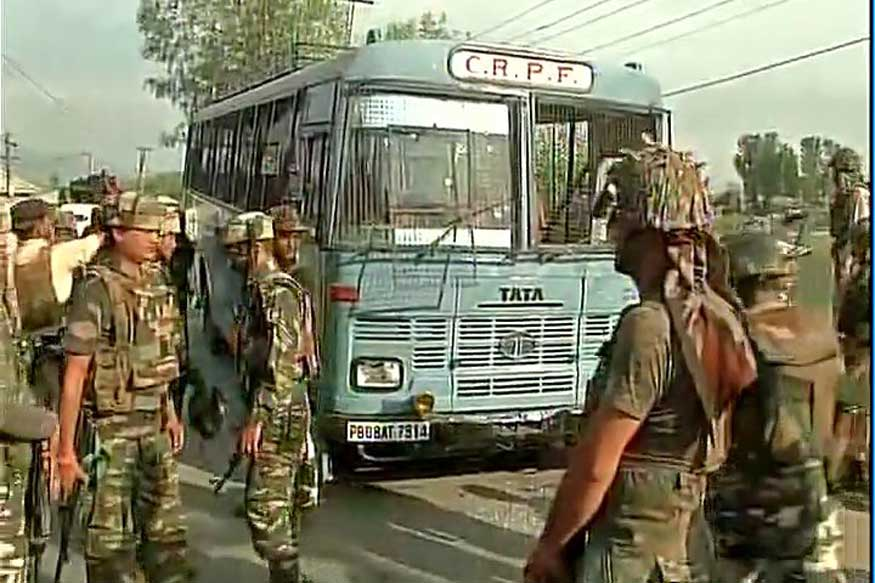 3 Civilians Dead, 20 Injured in Attack on CRPF Unit in Kashmir's Tral