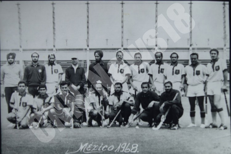 Team which won Bronze at 1968 Olympics in Mexico City.
