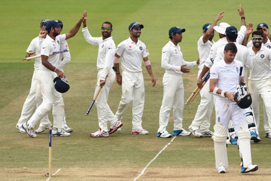A file image of team India celebrating last wicket. (Getty Images)