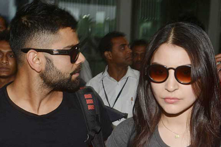 Virat Kohli and Anushka Sharma news 2016.29.12