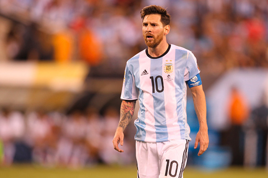 Image result for messi getty argentina captain
