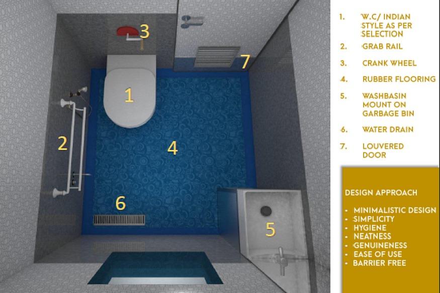 toilet design. photo the design that won him  Toilet Design 25 Best Ideas About Small On Pinterest