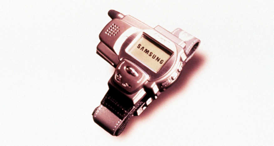 The Samsung Watch Phone - SPH-WP10. (Image: Getty Images)